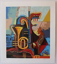 Igor Kovalev- Symphony I Limited Edition serigraph on paper Hand Signed W COA