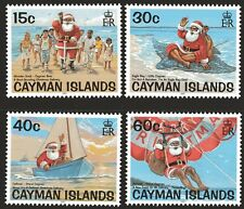 Cayman Islands 2001 Christmas set of 4 Mint Unhinged