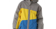 686 Garçons Angle Veste Snowboard (L) Lave Colorblock