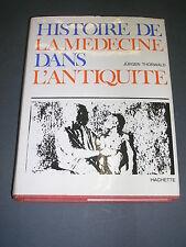 Médecine histoire de la médecine dans l'antiquite Jurgen Thorwald 1966