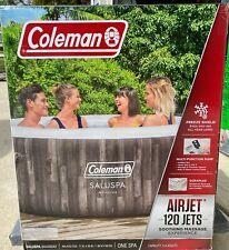 Coleman Saluspa Bahamas Inflatable Hot Tub, 2-4 Person, FREE SAME DAY SHIPPING