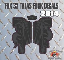 Fox 32  FORK Talas Stickers Decals Graphics Mountain Bike Down Hill MTB black