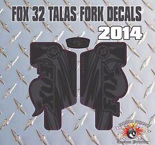 Fox 32  FORK Talas Stickers Decals Graphics Mountain Bike Down Hill MTB black