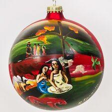 Paul Gaugin Christmas Ball Ornament Hand Painted in Ukraine SALE Arearea