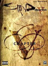 Staind CHAPTER V Guitar TAB Book Tablature Songbook Song Music 5 Mike Mushok