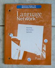 McDougal Littell LANGUAGE NETWORK, NEW Workbook gr.9/9th grammar,writing+