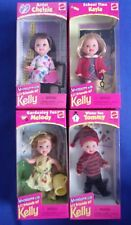 Li'l Friends of Kelly-Chelsie-Kayla-Melody-Tommy NRFB Excellent 1998 Lot-4 Dolls