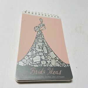 Bride Ideas Creative Wedding Journal and List Maker Guests Budget Reception More