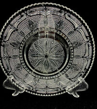 Cut Glass Oval Serving Tray