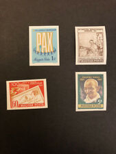 Hungary Scott No 1988,1989,2004,2005 MNH Imperforate Imperf Imp Stamps from 1969
