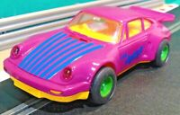 Scalextric 1:32 Vintage 1990 C466 The Joker Batman Porsche 911 Turbo (RESTORED)