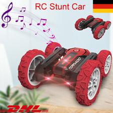 360° RC Stunt Auto Mit Musik-Rennwagen Amphibisch Offroad Kinder Spielzeug Gift