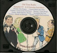 Vintage Radio Programs - Complete Sampler Audio CD #3