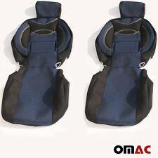 DOTS Schonbezüge Sitzbezug Sitzbezüge (schwarz-blue) VW T6/T5/T4/LT/CRAFTER 1+1