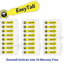 Duracell Hearing Aid Batteries Size 10, New (Pack 24 pcs) Fresh Expire 2021