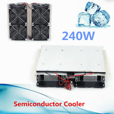 240w Refrigeration Peltier Cold Cooling Plate Cooler Fan Cooling Summer