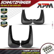 4x Spritzschutz Schmutzfänger für BMW X3 E83 2.0L 2.5LL 3.0L 2006-2011 SUV