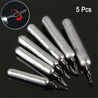 5Pcs Drop Shot Weights Sinker Finesse Pensil Lead Bass Pike Perch Fish Tackle