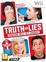 Truth or Lies - Someone will get caught WII GAME - without original case VGC PAL