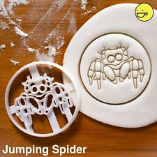 Jumping Spider cookie cutter | Halloween party treats arachnid salticidae cute