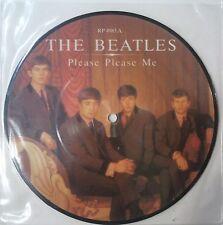 "The Beatles Please Please Me Single 7"" UK 1983 Fotodisco a color"