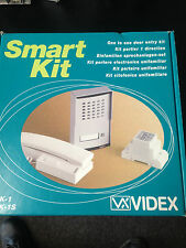 videx SMK 1s intercom system complete for electric gate automation