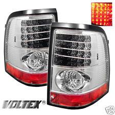 2002-2005 FORD EXPLORER 4DR LED TAIL LIGHT BAR LIGHTBAR LAMP CHROME