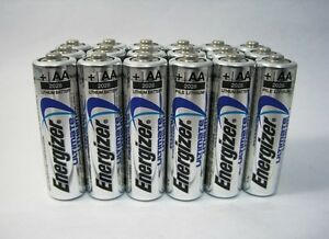 Energizer AA Ultimate Lithium L91 1.5V Batteries x 22
