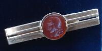 Vintage Intaglio Tiepin / Tie Clip / Money Clip - Swank