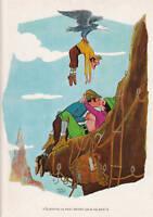 Publicité ancienne humour 1974 érotisme la montagne issue de magazine
