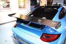 GT3 Carbon Fiber Rear Spoiler Wing with FRP base fit Porsche 997.1 911 Carrera S