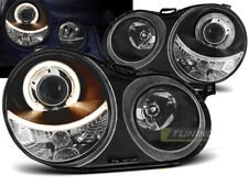RINGS HEADLIGHTS RHD LHD LPVW59 VW POLO 9N 2001 2002 2003 2004 2005 ANGEL EYES