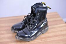 Dr. Martens 1460 Patent Leather Boots Black Men's 8 Women's 9
