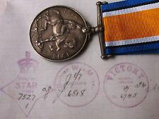 AUST WAR MEDAL WW1 2165 L/BDR HOLLAND F W 25th BN MEF & BEF AIF (BROKEN GROUP)
