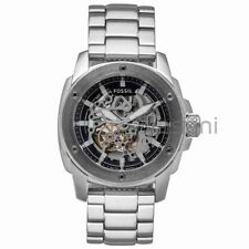 Fossil Original ME3081 Men's Modern Machine Silver Stainless Watch 50m Automatic