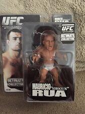 "UFC MMA Round 5 Mauricio ""Shogun"" Rua Action Figure NIB New RARE L@@K"