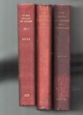 HERTS GENEALOGIST AND AND ANTIQUARY -BRIGG  [THREE VOLUMES]  [1895]