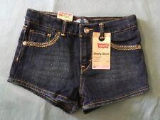Girl's Levi's Shorts Denim Size 6 Regular Adjustable Waist
