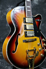Starshine Custom shop L5 archtop electric guitar Jazz guitar bigsby bridge