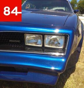 Pontiac Firebird Transam Esprit Formula 4x Headlight E-Certified Refit +