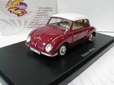 """AutoCult 03006 # Maico 400/4 Kleinwagen Baujahr 1955 in """" rot-weiß """" 1:43  NEU"""