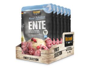 (7,97€/kg)   Belcando Ente mit Reis & Preiselbeeren 6 x 300 g Frischebeutel Fine