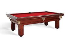 Billardtisch DIJON STYLE 9 ft  Billard Pool Tisch- und Tuchfarbe frei wählbar!