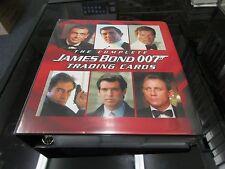 2007 The Complete James Bond Full Master Set Rittenhouse Archives