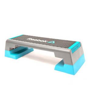 Reebok Womens Step Aerobic Cardio Stepper Adjustable Exercise Class Platform