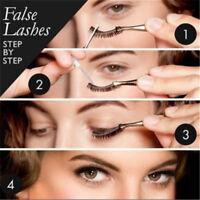 10 Pairs Women Natural Eyelashes Eye Makeup Handmade Long False Lashes OO