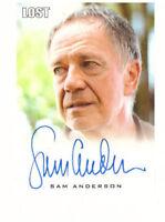 "LOST Seasons 1 thru 5 Premium Autograph Trading Card Sam Anderson ""Bernard"""