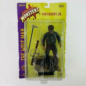 """The Wolfman 8"""" Action Figure 1998 Sideshow Universal Monsters Lon Chaney Jr. NEW"""