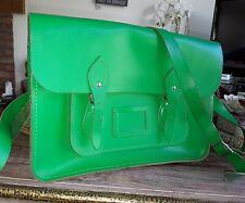 The Cambridge Satchel Company bright green satchel leather