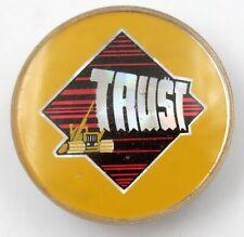 TRUST 'Logo' Vintage Prismatic Lapel Badge